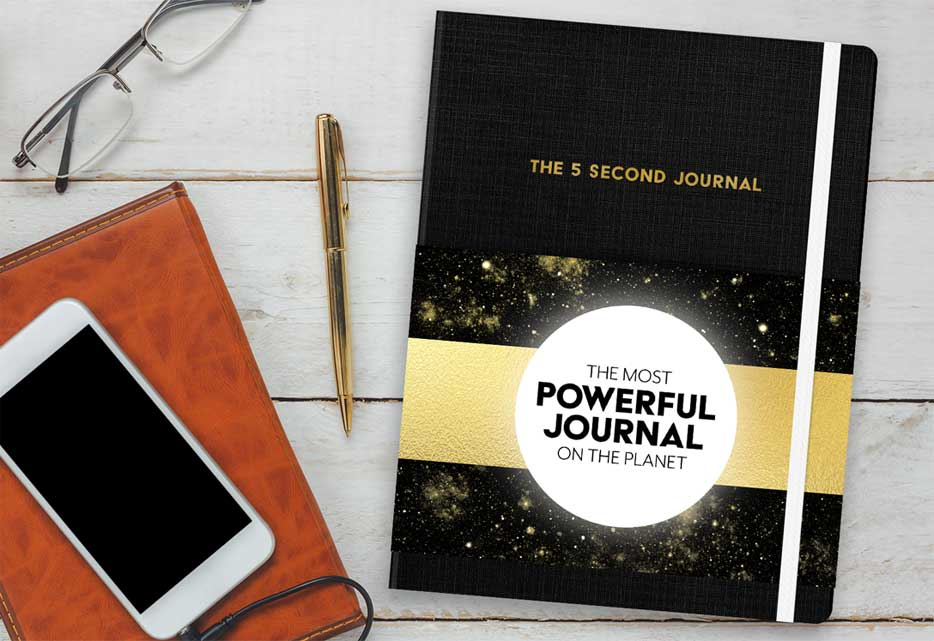 5 Second Journal image by Mel Robbins